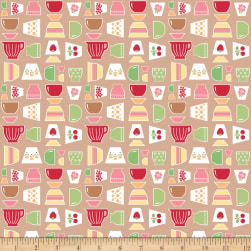 Riley Blake Bake Sale 2 Main Nutmeg Fabric