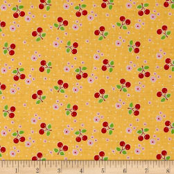 Riley Blake Bake Sale 2 Cherry Yellow Fabric