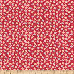 Riley Blake Bake Sale 2 Tulip Red Fabric