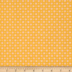 Riley Blake Bake Sale 2 Dot Yellow Fabric