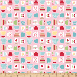 Riley Blake Bake Sale 2 Main Pink Fabric