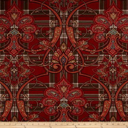 P/Kaufmann Aristocrat Basketweave Morris Red