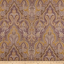 P/Kaufmann Trophy Room Basketweave Amethyst Fabric