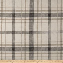 Richloom Lawson Velvet Plaid Moonlight Fabric
