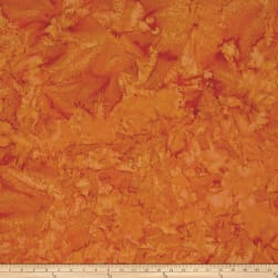 Island Batik Cotton Basics Copper Fabric
