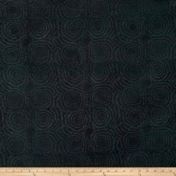 Island Batik Cotton Blender Black Fabric