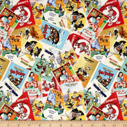 Disney Classics Donald Posters Multi Fabric
