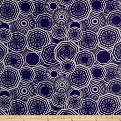 Richloom Carlota Jacquard Midnight Fabric