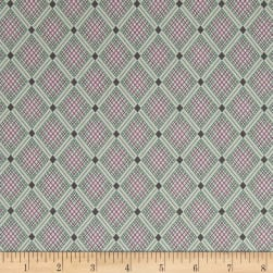 Penny Rose Sorbet Crisscross Purple Fabric