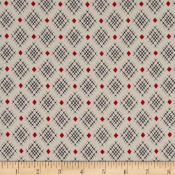Penny Rose Sorbet Crisscross Cream Fabric