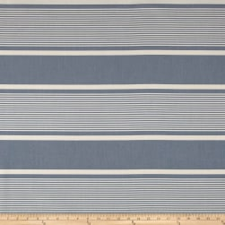 Ralph Lauren Outdoor Boaters Bay Stripe Chambray Fabric