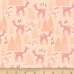 Cloud 9 Organic Flannel Field Day Roam Free Pink