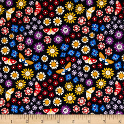 Cloud 9 Organic Bohemian Garden Wildflower Wonder Fabric