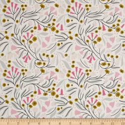 Cloud 9 Dancing Blossoms White / Multi Fabric
