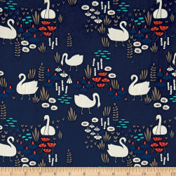 Cloud 9 Royal Swan Navy / Multi Fabric