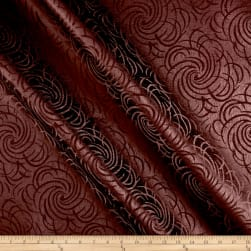 Swirl Vinyl Wine Fabric