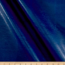 Classico Faux Leather Royal Blue Fabric