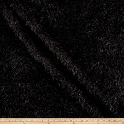 Shannon Minky Alpaca Cuddle Black Fabric