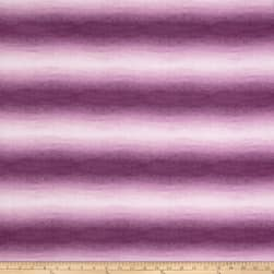Cherish Ombre Stripe Purple Fabric
