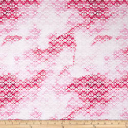 Cherish Ombre Lace Red Fabric