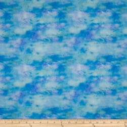 Color Splash Texture Blue Fabric