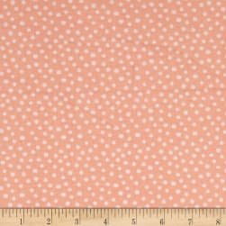 Little Forest Dot Light Coral Fabric