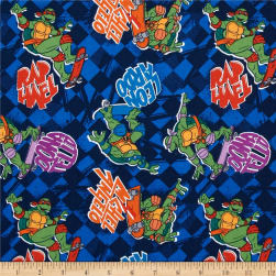 15 Yard Bolt Teenage Mutant Ninja Turtles Skate Boarding Blue