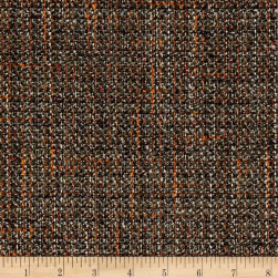 Tweed Boucle Coating Dark Olive/Orange