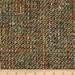 Tweed Boucle Coating Tan/Multi