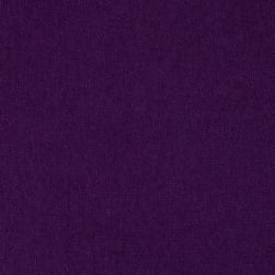Stretch Jersey Knit Solid Purple