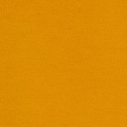 Stretch Jersey Knit Solid Mustard