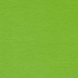 Stretch Jersey Knit Solid Lime