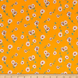 Liberty Fabrics Tana Lawn Melody Small Yellow Multi