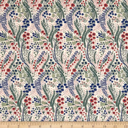 Liberty Fabrics Tana Lawn Bell Flower Red Multi