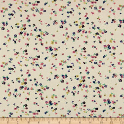 Liberty Fabrics Tana Lawn Staccato Cream Fabric