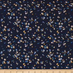 Liberty Fabrics Tana Lawn Staccato Navy Fabric