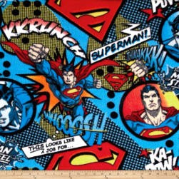 DC Comics A Job For Superman Fleece Multi