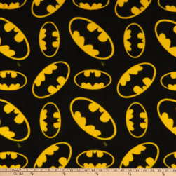 DC Comics Batman Fleece Tossed Multi Fabric