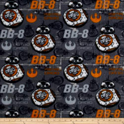 Fleece Star Wars VII - BB8 - Fleece