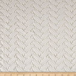 Shoshana Crochet Lace White