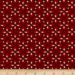 STOF France Taylor Stretch Jersey Knit Red Fabric