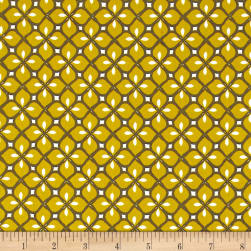 Stof France Taylor Stretch Jersey Knit Yellow Fabric