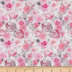 STOF France Dione Tle Provence Rose Fabric
