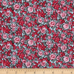 STOF France Roselina Lorraine Rose/Blue Fabric