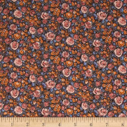 STOF France Roselina Lorraine Taupe/Orange Fabric