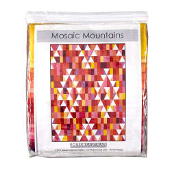 Kaufman Kona Cotton Mosaic Mountains Kit Warm