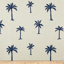Artistry Classic Palm Jacquard Navy Fabric