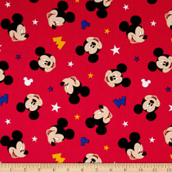 Disney Mickey Traditional Mickey Head Toss Multi Fabric