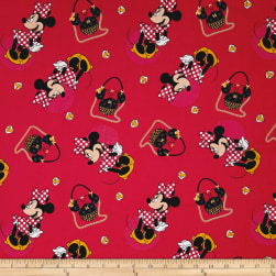 Disney Minnie Traditional Minnie Purses Red Fabric