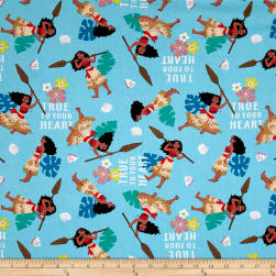 Disney Moana True To Your Heart Multi Fabric
